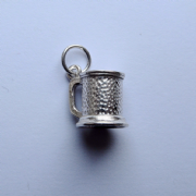 Sterling Silver Tankard Charm